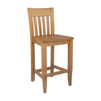 Safsil Seating Jacob Slat Back 24 in. Counter Stool