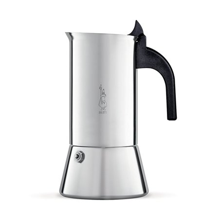 Bialetti Venus Stainless Steel Stovetop Espresso Coffee Maker, 6-Cup