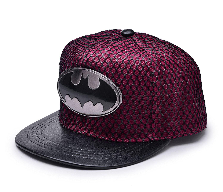 8273786a794 Batman Baseball Cap Hip-hop Snapback Hat - Walmart.com