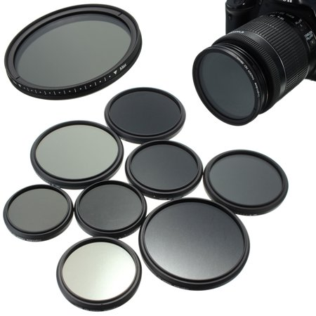 67mm PRO Adjustable Fader Lens Filters Neutral Density ND2-ND400 Lens Variable Filter For SLR DSLR