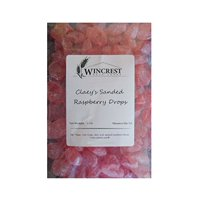 Claey's Olde Fashioned Sanded Candies (Raspberry) - 1 Lb