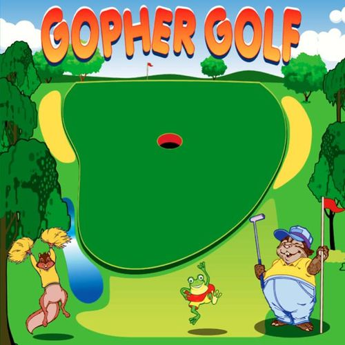 Gopher Golf Interactive Frame Game for Carnivals, Fairs, Festivals, Fundraisers, School and Church Events by Pogo Bounce House