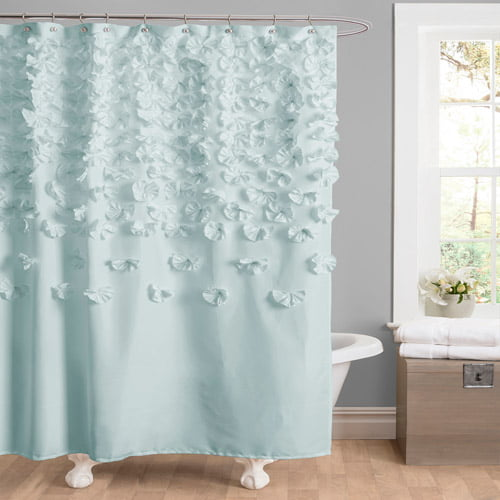 Essential Living Lucia Shower Curtain, by Triangle Home Fashions