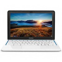 Refurbished HP Chromebook 11-1101 (White/Blue)