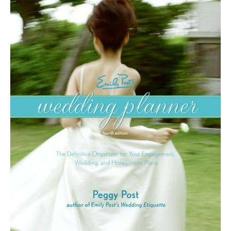 Emily Post's Wedding Planner - Diy Wedding Planner