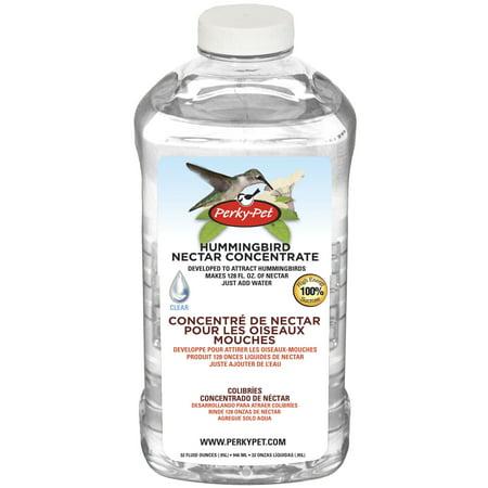 Perky-Pet 238CL Clear Hummingbird Nectar Concentrate, 32-Ounce (Hummingbird Nectar Formula)