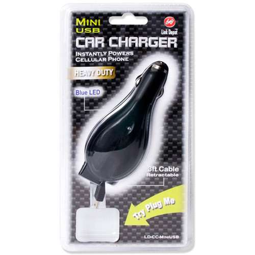Link Depot Mini USB Series Car Charger