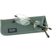 Foster Grant Men's T20 Reading Glasses, Black