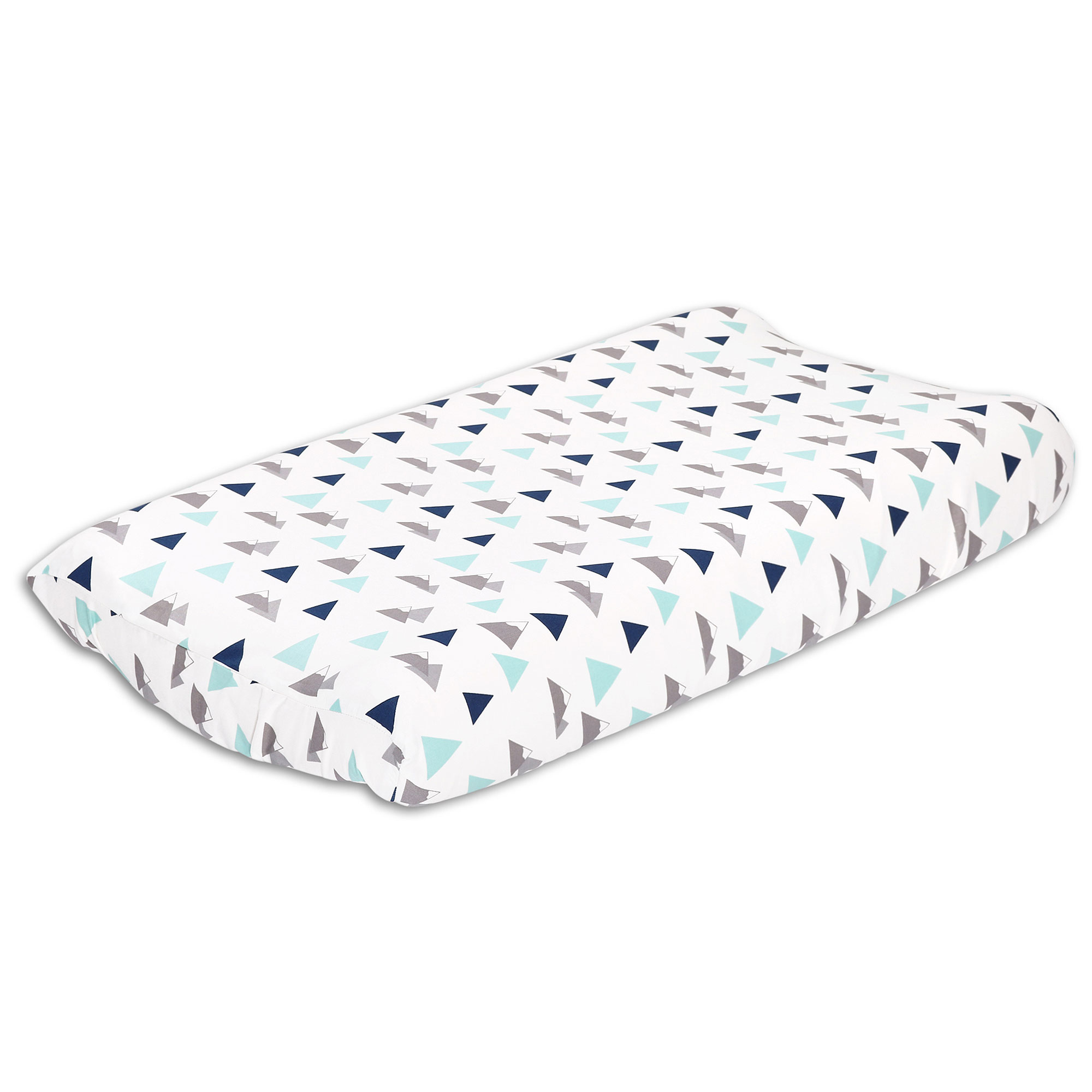 Woodland Trail Mountain Theme Changing Pad Cover Geometric by The Peanut Shell