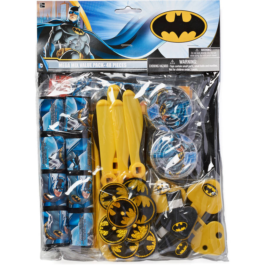 Batman Treat Bags, 8 Count, Party Supplies