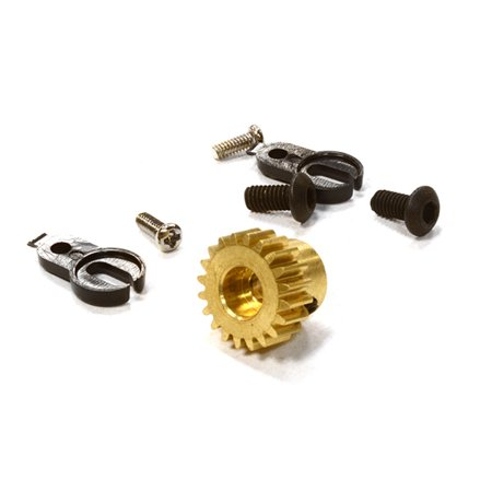Integy RC Toy Model Hop-ups C26444 Metal Pinion 20T for C24741 Type Wraith Main Gear (Metal Pinion Gear)