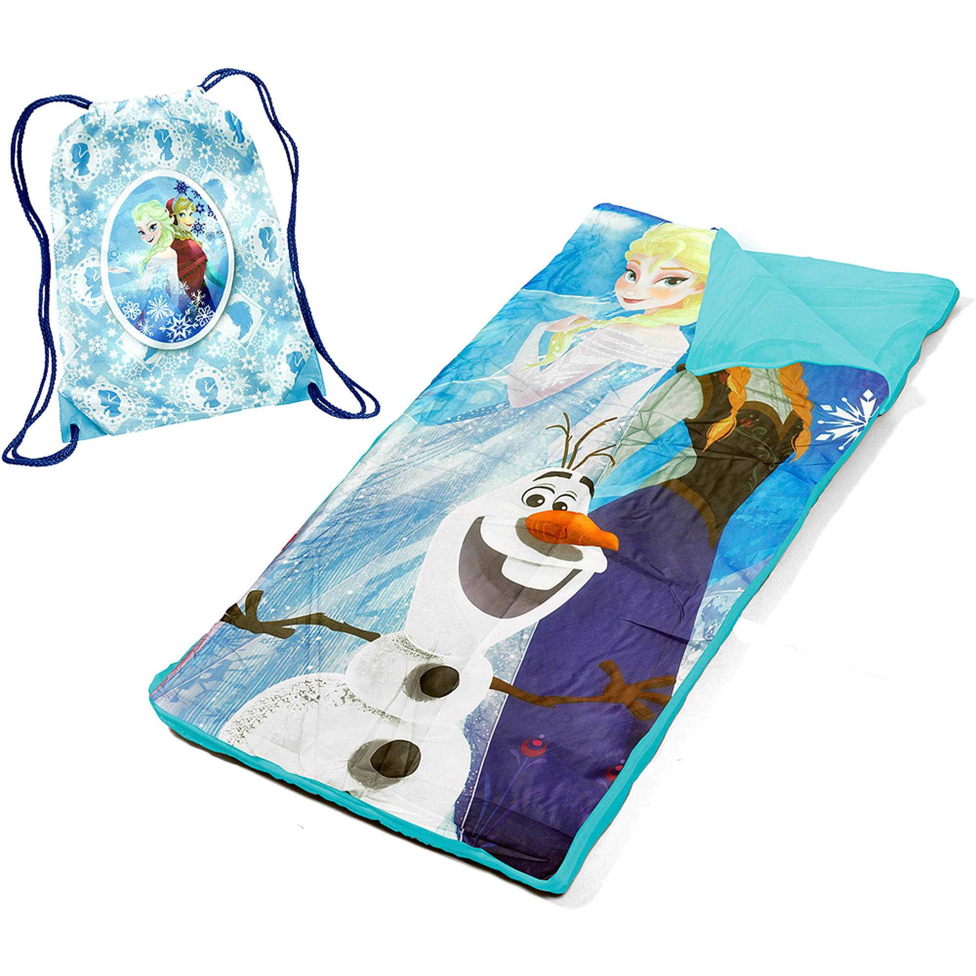 Disney Frozen Slumber Set Nap Mat with BONUS Sling Bag