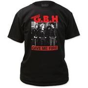 G.B.H. Men's  Give Me Fire T-shirt Black