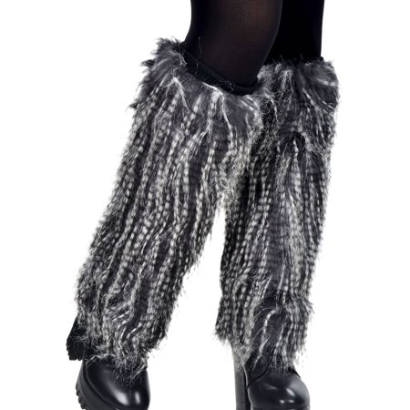 Simplicity Women's Soft Furry Boot Cuff Leg Warmers, 15