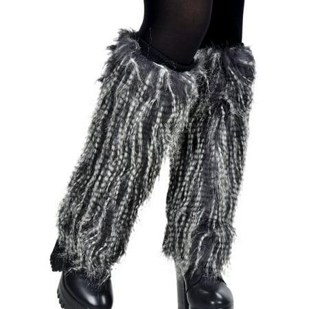 Simplicity Women's Soft Furry Boot Cuff Leg Warmers, 15