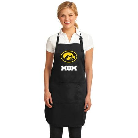 University of Iowa Mom Apron DELUXE Iowa Hawkeyes Mom -