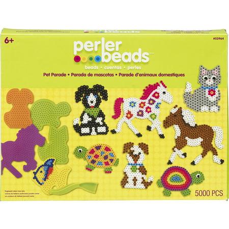 Perler Fun Fusion Fuse Bead Value Activity Kit, Pet Parade