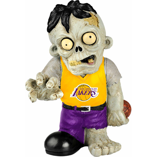 Forever Collectibles NBA Resin Zombie Figurine, Los Angeles Lakers