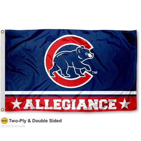 Chicago Cubs Allegiance Two Sided Flag