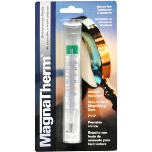 MagnaTherm Thermometer Mercury Free 1 Each (Pack of 4)