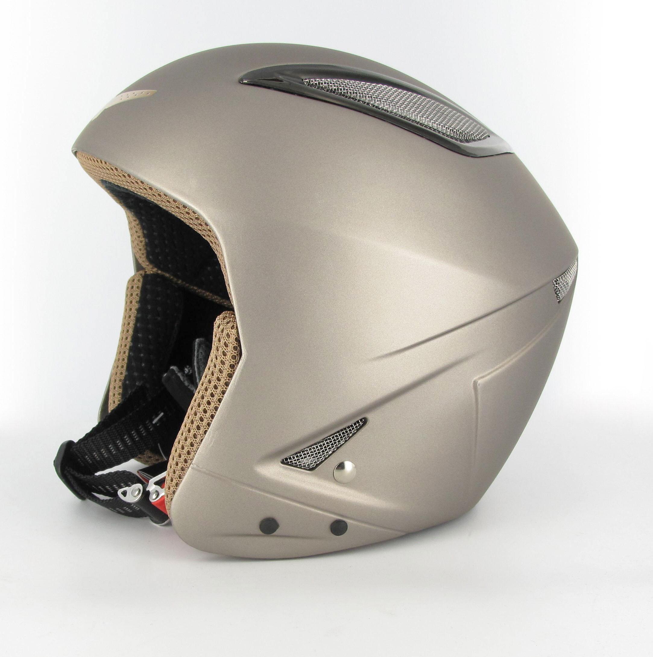 Briko Indian Ski Helmet (Titanium, 56cm) by SOGEN SPORTS INC.