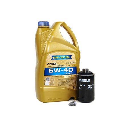 Blau J1A5088-HH VW Jetta VI Motor Oil Change Kit - 2010-13 w/ 4 Cylinder 2.0T Engine - 5w40