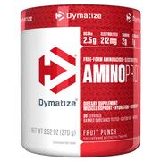 Dymatize Amino Pro, BCAAs and Electrolytes, Fruit Punch, 9.5 Oz