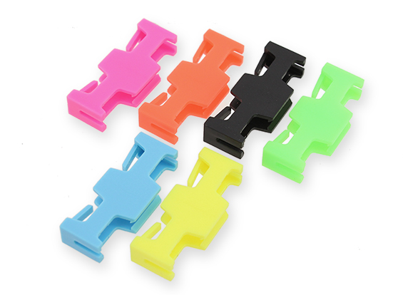 Many Helicopter Quadcopter Airplane Boat Car Controller Servo Extension Safety Lock Clips 6 Locks Clip Neon Safe Factory Units by