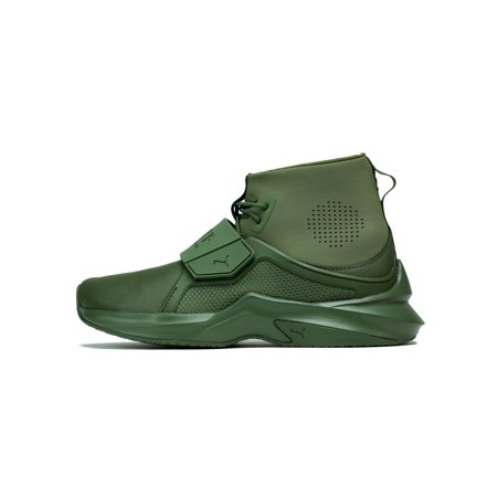 best cheap 9d2df aca4c Puma The Trainer Hi By Fenty Cypress Green Rihanna 190398 02 Women's