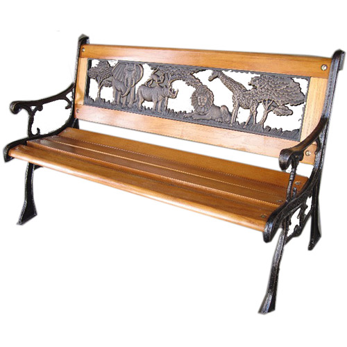DC America Kiddie Jungle Park Bench, Bronze by DC America