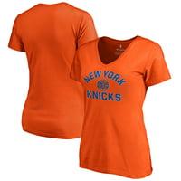New York Knicks Women's Overtime T-Shirt - Orange