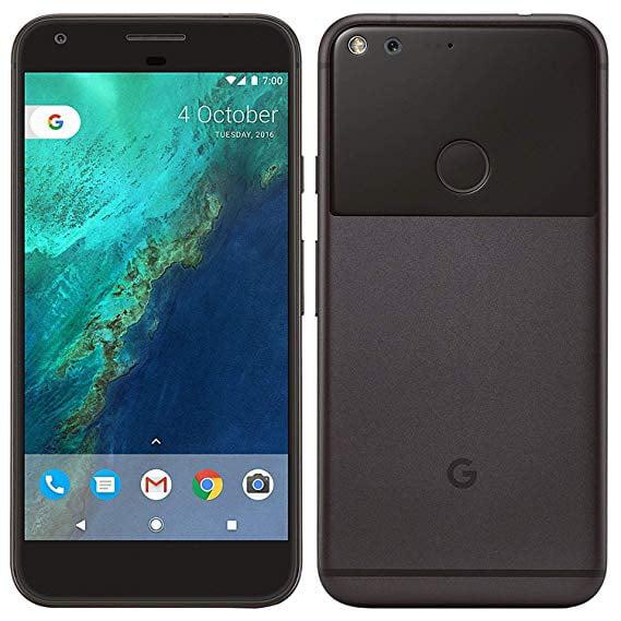 Google Pixel Phone 128 GB - 5 inch Display (Factory Unlocked US Version) (Quite Black)