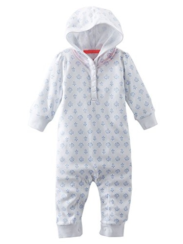 OshKosh B'gosh Baby Girls' Hooded Print Coveralls - 18 Months