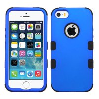 Insten Tuff Hard Dual Layer Rubber Coated Silicone Cover Case For iPhone SE 5 5S case cover