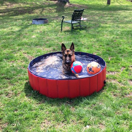 Foldable Pvc Dog Cat Water Pool Pet Outdoor Swimming
