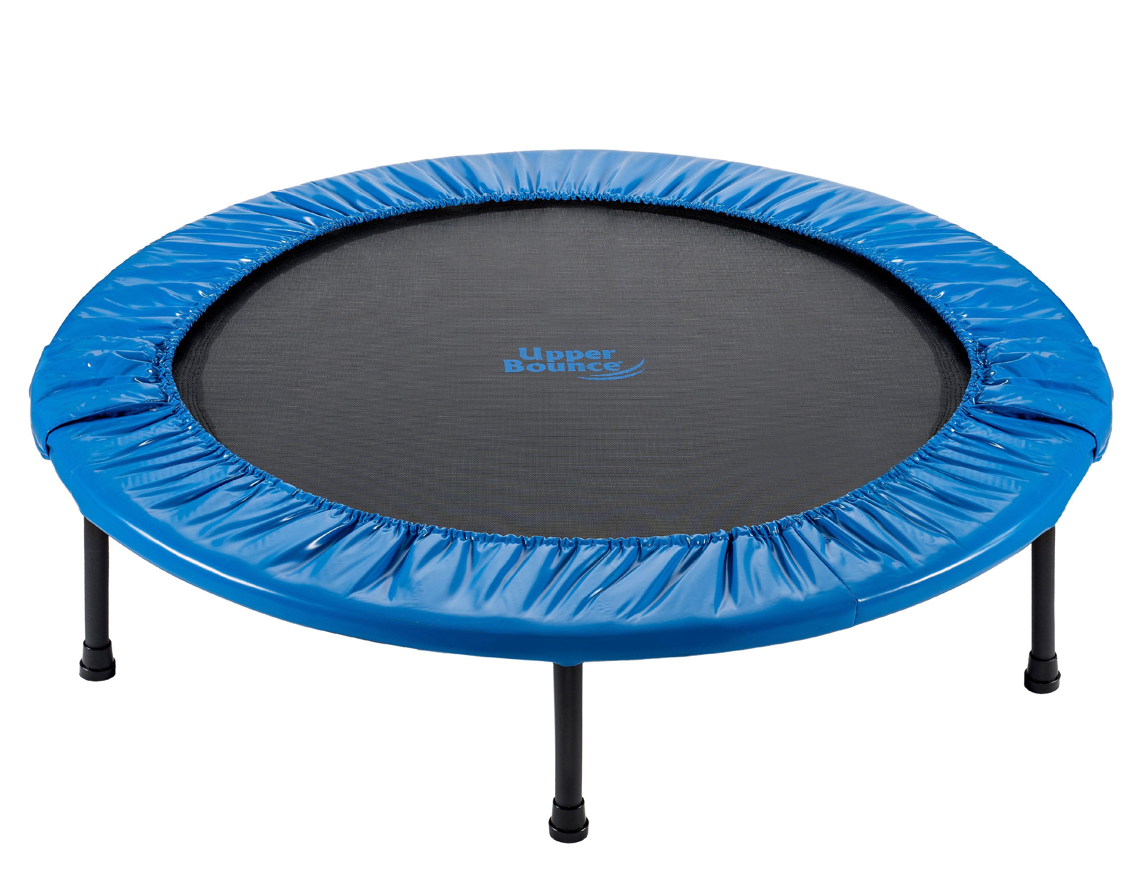 Upper Bounce 36-Inch Foldable Rebounder Trampoline, Blue by KSH Brands