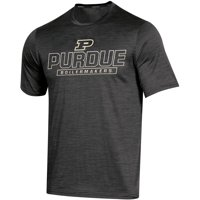 Men's Russell Athletic Black Purdue Boilermakers Synthetic Impact T-Shirt