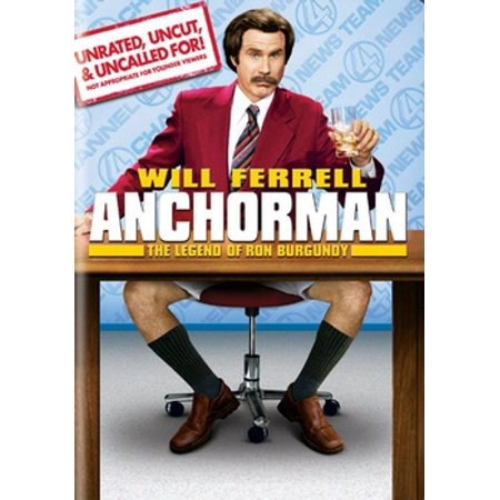 Anchorman: The Legend of Ron Burgundy (DVD) (Anchorman Scotch)