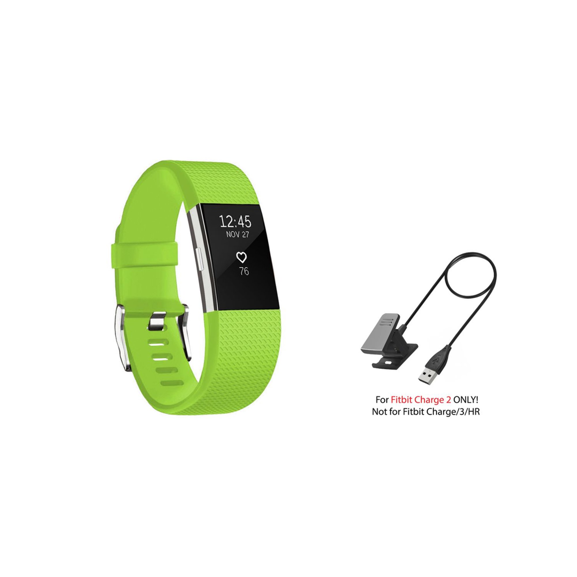 Fitness Tech StrapsCo Replacement Charger for Fitbit Alta HR