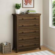 Oakridge 5-Drawer Dresser by Ameriwood Home, Homestead Oak