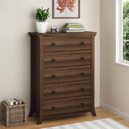 Oakridge 5 Drawer Dresser By Altra  Homestead Oak