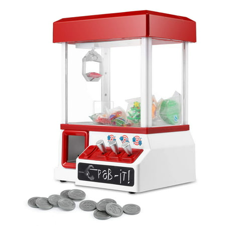 Carnival Crane Claw Game - Features Animation and Sounds for Exciting Pretend Play Home Carnival Claw Game Kids Arcade Electronic Toy Grabber Crane Machine Features and Exciting with - Carnival Kids