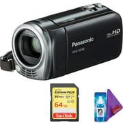 Panasonic HDC-SD40 High Definition Camcorder (Black) + Pro Memory Card