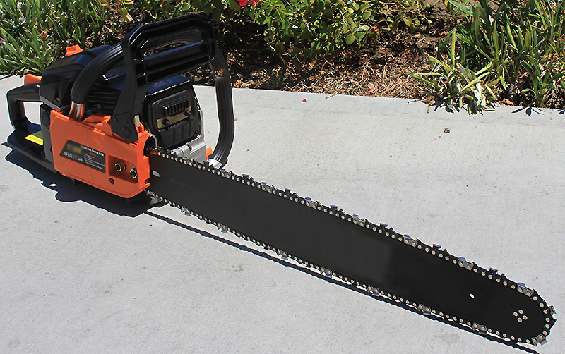 "XtremepowerUS 52CC Chainsaw 22"" 2.4HP EPA Gasoline Aluminum Crankcase by"
