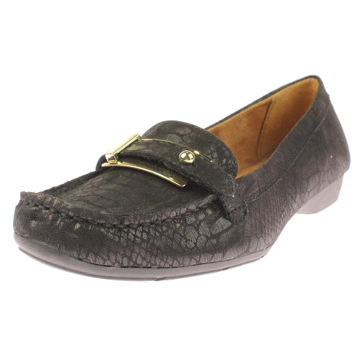 Naturalizer Womens Gisella Belted Toe Moc Toe Belted Loafers 5dfa00