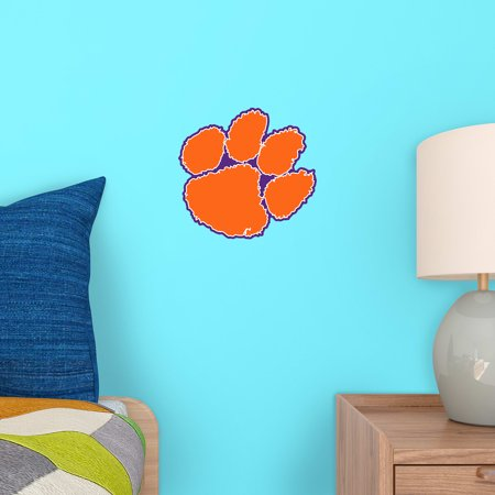 Fathead Clemson Tigers Logo Large Officially Licensed Removable Wall D