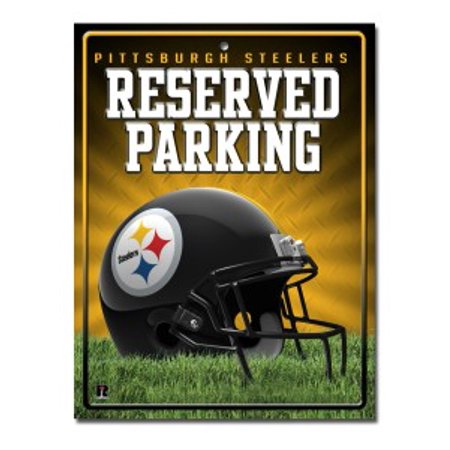 Pittsburgh Steelers Metal Parking Sign - image 1 de 1