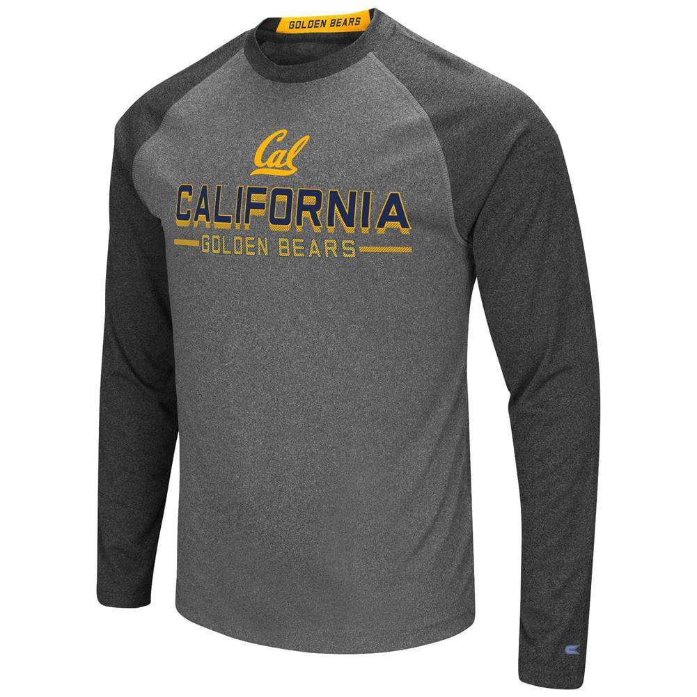 Cal Berkeley Golden Bears Long Sleeve T-Shirt Raglan Graphic Tee