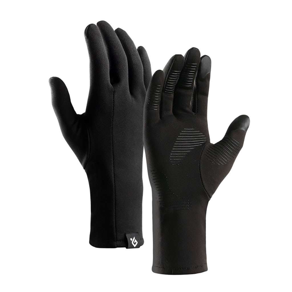 Color : L Men Women Winter Touch Screen Windproof Waterproof Gloves Outdoor Sport Cycling Driving Gloves