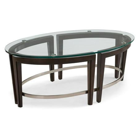 Magnussen Carmen Oval Cocktail Table